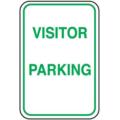 Parking Signs - Visitor Parking