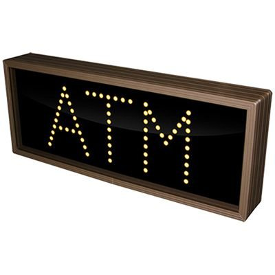 Atm Amber Direct View Sign