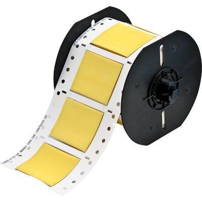 Brady B33D-1000-2-342YL BBP33 Label - Yellow