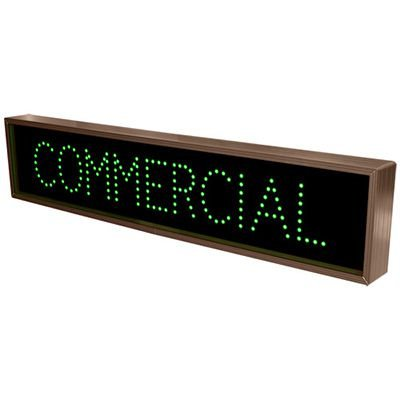 Commercial Direct View Sign
