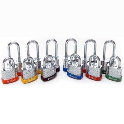Brady® High Performance Steel Padlocks- Keyed Differently
