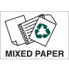 Recycling Labels - Mixed Paper