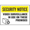 See-Thru Security Decals - Surveillance