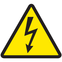 International Symbols Label - High Voltage