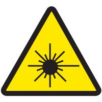 International Symbols Labels - Laser Beam