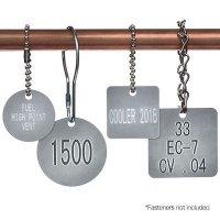 Custom Engraved Aluminum Valve Tags