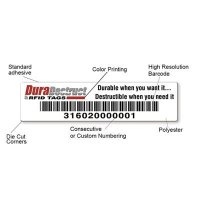 DuraDestruct RFID Tags - Plastic