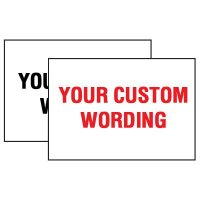 Custom Hot Adhesion Labels