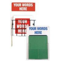 Custom Operating Procedure Signs & Stations