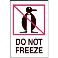Fragile Labels - Do Not Freeze