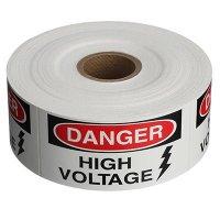 Safety Labels On A Roll - Danger High Voltage