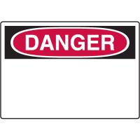 OSHA Danger Signs - Blank