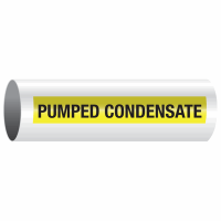 Opti-Code™ Self-Adhesive Pipe Markers - Pumped Condensate