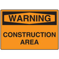 Warning Signs - Construction Area