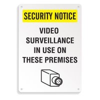 Security Camera Signs - Video Surveillance