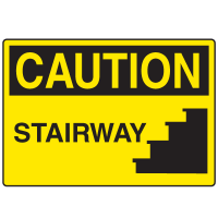 Caution Signs - Stairway