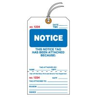 Tear-Off Jumbo Notice Tags