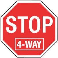 Stop Signs - Stop 4-Way