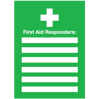First Aid Responders Emergency Frame