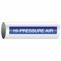 Opti-Code™ Self-Adhesive Pipe Markers - Hi-Pressure Air