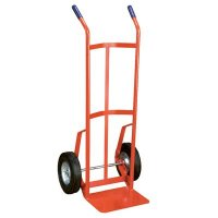 Industrial Duty Steel Hand Truck with Two Handles