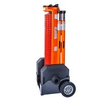 RapidRoll Wheeled Portable Barrier System