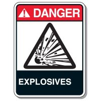 Giant Explosives & Blasting Signs - Explosives