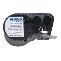 Brady M-89-427 BMP51/BMP41 Label Cartridge - Black on White/Clear