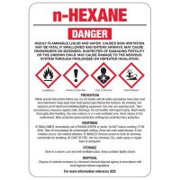 N-Hexane GHS Sign