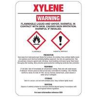 Xylene GHS Sign