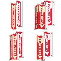 Panneaux français d'extincteurs d'incendie 2 à 3 voies - Extincteur