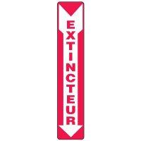 Enseignes De Sortie D'Incendie - Extincteur (Flèche)