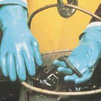 MAPA® StanSolv® AF-18 Chemical Protection Nitrile Gloves