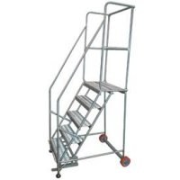 Stainless Steel Mobile Ladder Stands