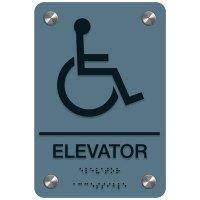 Elevator - Premium ADA Facility Signs