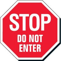 Stop Signs - Stop Do Not Enter