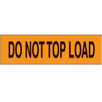 Do Not Top Load Pallet Labels