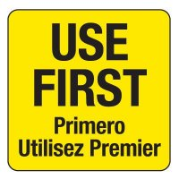 Water-Soluble Labels - Use First/Primero Utilizes Premier