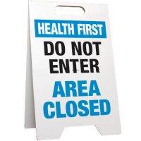Do Not Enter Area Closed