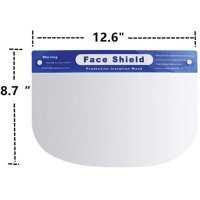 Adjustable Anti-Fog Full Face Shield – Case of 200