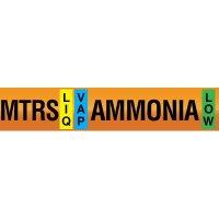 Opti-Code™ Ammonia Pipe Markers - Medium Temperature Recirculated Suction