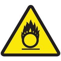 International Symbols Labels - Oxidizing Materials Hazard
