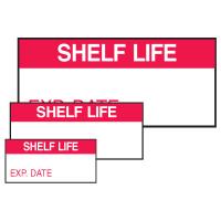 Shelf Life Exp. Date Self Laminating Labels