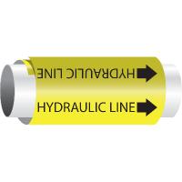 Setmark® Snap-Around Pipe Markers - Hydraulic Line