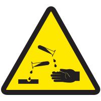 International Symbols Labels - Corrosive Materials