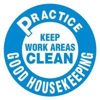Anti-Slip Floor Markers - Practice Good Housekeeping