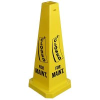 Safety Traffic Cones- Closed For Maint