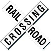 Reflective Traffic Signs - Railroad Crossing