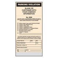 Standard Parking Violation Tickets - Parking Violation