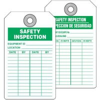 Safety Inspection Tag